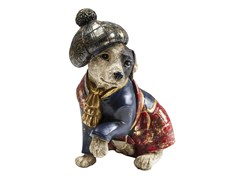 Salvadanaio in resina SCOT DOG -