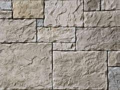Rivestimento in pietra ricostruitaSCOZZESE P07 | Bianco Terra - GEOPIETRA