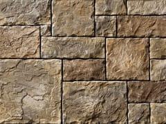 Rivestimento in pietra ricostruitaSCOZZESE P07 | Marrone Terra - GEOPIETRA