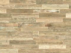 Pavimento/rivestimento in gres porcellanato a tutta massa effetto legnoSCRAPWOOD Sun - ITALGRANITI