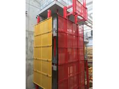 Sistema idraulico di risalita per piani di lavoroSCREEN - FARESIN FORMWORK