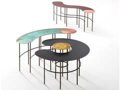 Tavolino in metalloSCRIBBLE - DE CASTELLI