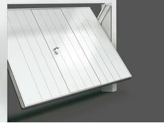 Portone da garage basculante in acciaioSCUDO STEEL - DE NARDI