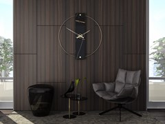 Orologio in metallo da pareteSCULTOREO   Orologio da parete - MATERIUM