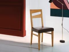 Sedia in legno massello con cuscino integratoSD003 - DEVINA NAIS