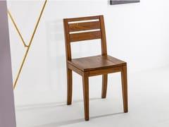 Sedia in legno massello con schienale apertoSD237 - DEVINA NAIS