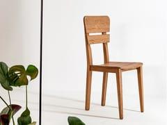 Sedia in legno massello con schienale apertoSD244 - DEVINA NAIS