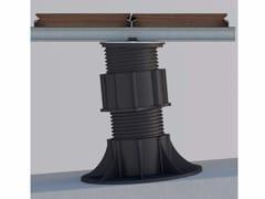 Sistema modulare per pavimento sopraelevato SE - ETERNO e travetto in alluminio - Woodeck
