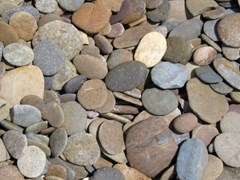 GRANULATI ZANDOBBIO, CIOTTOLI DI MARE Ciottoli da giardino in pietra naturale