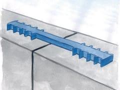 Waterstop in PVC per riprese di getto statiche in centroSEALPVC RG 250 - AZICHEM