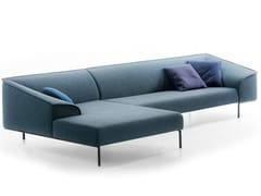 Divano in tessuto con chaise longueSEAM | Divano con chaise longue - PROSTORIA