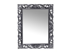 Specchio rettangolare da parete con cornice SECOLO CHROME -