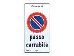 SegnaleSEGNALE PASSO CARRABILE - FT