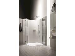Box doccia angolare con porta a soffiettoSEI | Box doccia con porta a soffietto - ARBLU