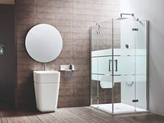 ARBLU, SEI | Box doccia con porta a battente  Box doccia con porta a battente