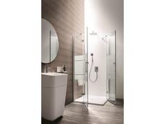 Box doccia a nicchia con porta a battenteSEI | Box doccia con porta a battente - ARBLU