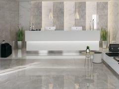 Pavimento/rivestimento in gres porcellanato effetto marmoSELECTION   Grey lappato - ARMONIE CERAMICHE