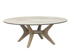 Tavolino da caffè rotondo in legnoSELVA   Tavolino da caffè - LES JARDINS