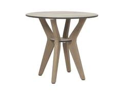 Tavolino di servizio rotondo in legnoSELVA   Tavolino di servizio - LES JARDINS