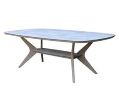 Tavolo da giardino rettangolare in legnoSELVA   Tavolo - LES JARDINS