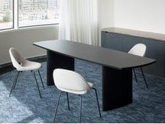 Scrivania / tavolo da riunione in legnoSENSES | Tavolo da riunione - BULO