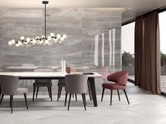 Gres porcellanato a massa colorata SENSI Arabesque Silver Lux+ - ABK GROUP INDUSTRIE CERAMICHE