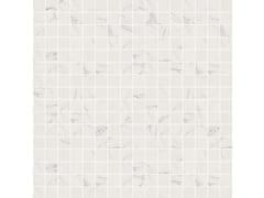 Mosaico lucido con bordi irregolariSENSI MOSAICO ART Statuario White lux+ - ABK GROUP INDUSTRIE CERAMICHE