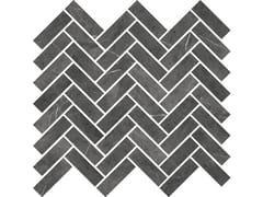 Mosaico finitura opacaSENSI MOSAICO CHEVRON Pietra Grey sablè - ABK GROUP INDUSTRIE CERAMICHE