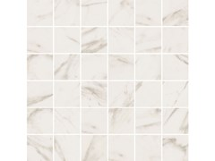 Mosaico finitura opacaSENSI MOSAICO QUADRETTI Calacatta Select sablè - ABK GROUP INDUSTRIE CERAMICHE