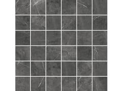 Mosaico finitura opacaSENSI MOSAICO QUADRETTI Pietra Grey sablè - ABK GROUP INDUSTRIE CERAMICHE