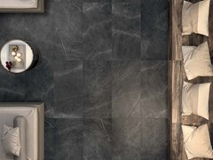 Gres porcellanato a massa colorata SENSI Pietra Grey Sablè - ABK GROUP INDUSTRIE CERAMICHE