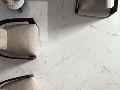 Gres porcellanato a massa colorata SENSI Statuario White Lux+ - ABK GROUP INDUSTRIE CERAMICHE