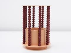 Vaso fatto a mano in metallo con perline in legnoSEPTEMBRE - HENRI MATISSE