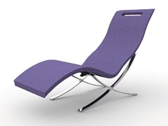 Chaise longue in polietilene SERENDIPITY® CHAISE S120 - ARKEMA DESIGN