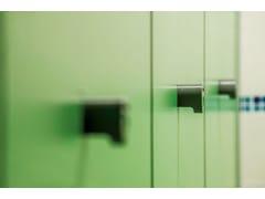 Parete divisoria per bagni in HPLPARETE MODULARE G/S - GES GROUP