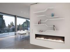 Mensola in alluminio verniciato a polvere SET 12 - Network modular shelf
