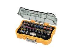 Set di punteSET 32 PEZZI PER AVVITARE DT7969 - DEWALT® STANLEY BLACK & DECKER ITALIA
