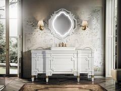 Mobile lavabo singolo con specchio SET CASTILLIA 170 -