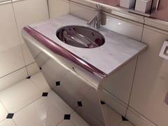 Lavabo ovale in marmoSETTANTACINQUE | Lavabo ovale - COMPONENDO
