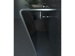 Lavabo rettangolare in acciaio inoxSETTANTADUE - COMPONENDO