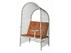 Seduta da esterni in acciaioSHADE | Seduta da esterni - PUNTO DESIGN