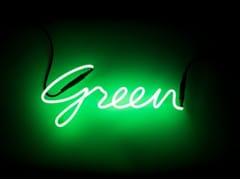 Lettera luminosa da pareteSHADES GREEN - SELETTI