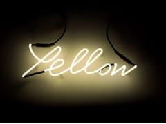 Lettera luminosa da pareteSHADES YELLOW - SELETTI