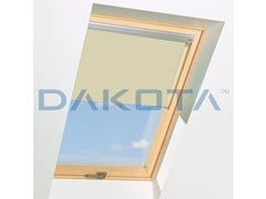 Dakota, TENDINA OMBREGGIANTE INTERNA Tenda per finestre da tetto a rullo filtrante in cotone per interni