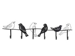 Appendiabiti da parete in acciaio verniciato a polvereSHADOW BIRDS 85CM - KARE-DESIGN