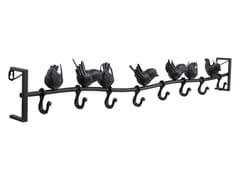 Appendiabiti da parete in acciaio verniciato a polvereSHADOW BIRDS 95CM - KARE-DESIGN