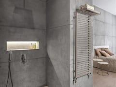 Scaldasalviette ad acqua calda in acciaio a pareteSHADOW RACK - SCIROCCO H