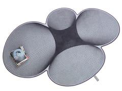 Tappeto in lana SHAMROCK 002 - Shades of Grey