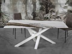 Tavolo da salotto rettangolare in resina SHANGAI ART - Shangai