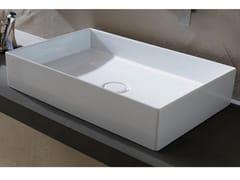 Lavabo da appoggio in ceramicaSHAPE   Lavabo rettangolare - GRUPPO P&G